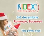 Joi, 3 decembrie 2009, se deschide KIDEX!