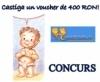 Concurs! MagazinBebe.ro iti ofera un voucher de 400 RON!
